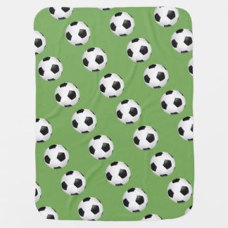 Baby Blanket-Soccer Balls Baby Blanket