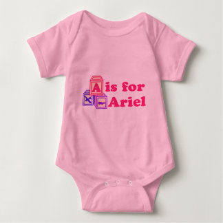 Baby Blocks Ariel Baby Bodysuit