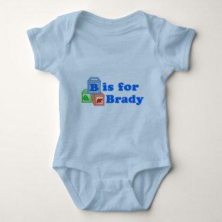 Baby Blocks Brady Baby Bodysuit