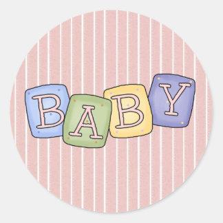 Baby Blocks Fun Stickers ~ Seals