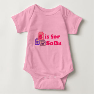 Baby Blocks Sofia Baby Bodysuit