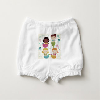 Baby bloomers with mare girls nappy cover