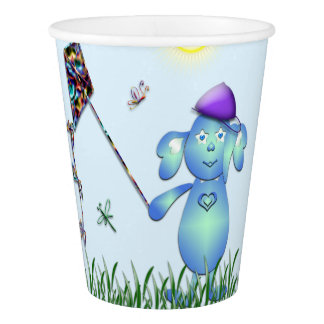 Baby Blu in the Park Paper Cup