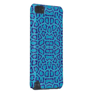 Baby Blue Animal Print iPod Touch (5th Generation) Cases