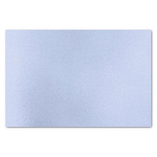 Baby Blue Aqua Metallic Pastel Delicate Tissue Paper