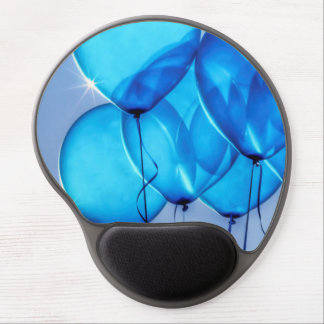"""""""Baby Blue Balloons"""" Gel Mouse Pad"""
