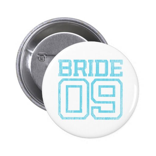 Baby Blue Bride 09 Distressed Effect Pin