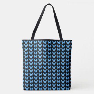 BABY-BLUE-Butterflies-Stylish-TOTES-SHOULDER BAGS