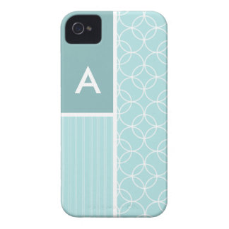 Baby Blue Circles iPhone 4 Covers