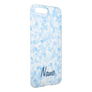 Baby blue confetti design iPhone 8 plus/7 plus case