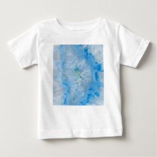 Baby Blue Crystal Agate Baby T-Shirt
