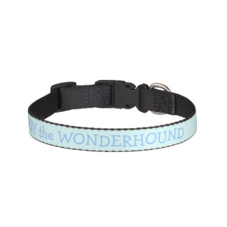 Baby Blue Dog Collar Personalized