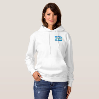 Baby Blue Dolphin Hooded Jumper Hoodie
