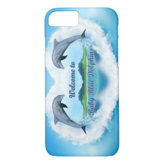 Baby Blue Dolphin Phone CAse
