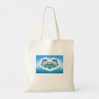 Baby Blue Dolphin Tote