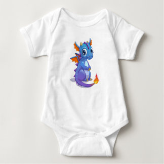 Baby Blue Dragon Baby Bodysuit