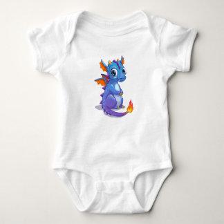 Baby Blue Dragon Tee Shirt