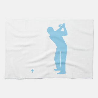 Baby Blue Golf Tea Towel