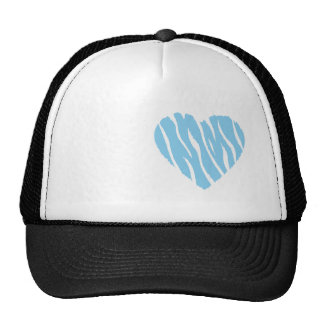 Baby Blue Heart Cap