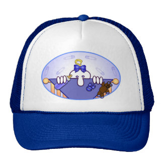 Baby Blue Kilroy Hat