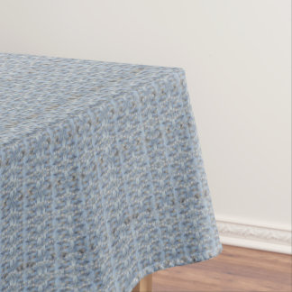 Baby Blue Marble Stone Tablecloth Texture#14-b