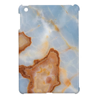Baby Blue Marble with Rusty Veining iPad Mini Case