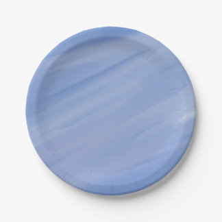 Baby blue plates 7 inch paper plate