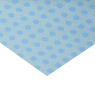 Baby Blue Polka Dots | DIY Background Colors Tissue Paper