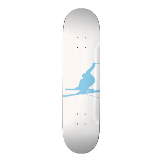 Baby Blue Snow Skiing Skate Boards