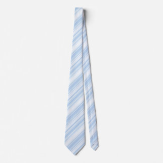 Baby blue stripes tie