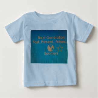 Baby Blue Tee with Teal Logo