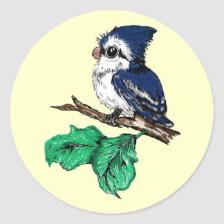 Baby Bluejay Stickers