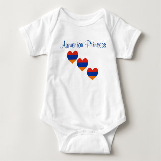 Baby  | Body Suit | Armenian Princess | Heart Baby Bodysuit