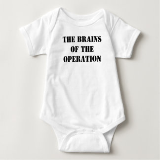 Baby bodysuit Brains of the operation