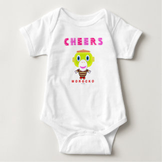 Baby Bodysuit    Cheers By Morocko