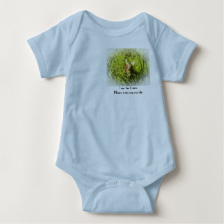 "Baby BodySuit, Fawn ""I am the Future"" Baby Bodysuit"