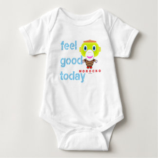 Baby Bodysuit    Feel Good Today By Morocko