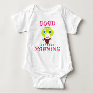 Baby Bodysuit  Good Morning By Morocko