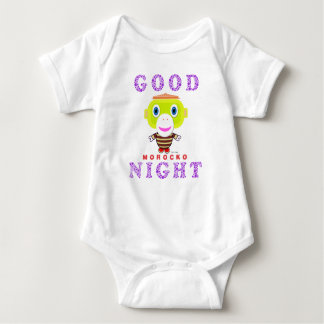 Baby Bodysuit   Good Night By Morocko