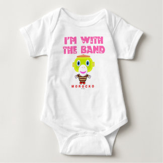 Baby Bodysuit    Im With The Band By Morocko