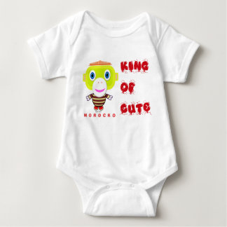 Baby Bodysuit    King Of Cute By Morocko