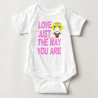 Baby Bodysuit    Love Just The Way You  By Morocko