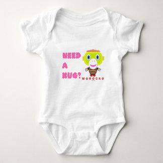 Baby Bodysuit    Need A Hug By Morocko