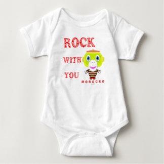 Baby Bodysuit    Rock With You By Morocko