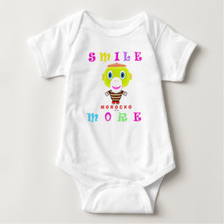 Baby Bodysuit    Smile More By Morocko
