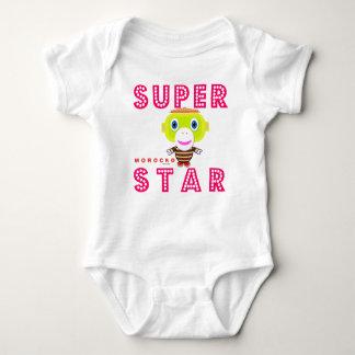 Baby Bodysuit   Superstar By Morocko
