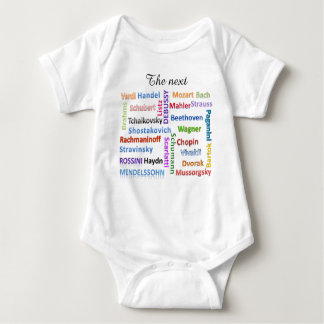 Baby Bodysuit The Next Great Music Composer