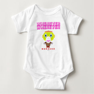Baby Bodysuit    Whenever Wherever By Morocko