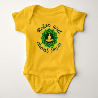Baby Bodysuit with Azure Mandala
