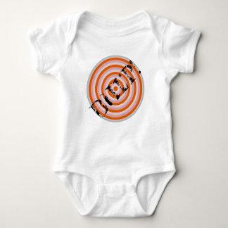 Baby bodysuit with BURP! target